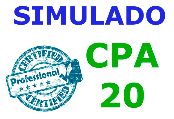 Simulado CPA20